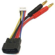 3S ID Charger Adapter: Traxxas ID Male to 4mm bullet adapter for 3S packs only