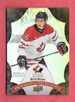2016-17 Mitch Marner Upper Deck Team Canada Juniors Program of Excellence