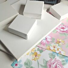 """20x20cm/8x8"""" Thin Stretched Artist Canvas Frame Blank Primed Gesso Paint Best Q"""