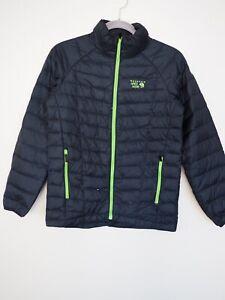 Mountain Hardwear Boys Insulated Micro Ratio Down Jacket Youth Size Large Black