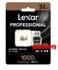 Lexar 32GB 32G 1000x Micro SD SDHC 150MB/s Class10 UHS-II U3 USB3.0 Reader GoPro