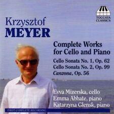 Krzysztof Meyer - Complete Works for Cello & Piano : Evva Mizerska