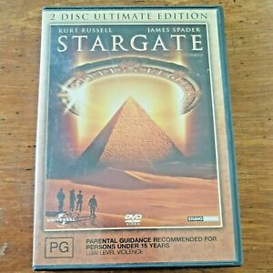 Stargate (1994 Film) DVD Kurt Russell James Spader R4 Like New! – FREE POST