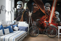 Star Wars wallpaper mural 144x100inch photo wall decor children's bedroom Kylo