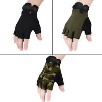 Outdoor Tactic Military Gloves Half Finger Cycling Driving Fingerless Mittens