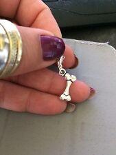 Dog Bone Double sided Tibetan silver Clip on Charm Au stock! Make a bracelet