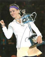 Victoria Azarenka Australia Open Champs Tennis 8x10 Photo Signed Auto