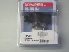 "SHURflo In-Line Strainer 1/2"" Male Pipe Straight No. 255-313 NEW!"