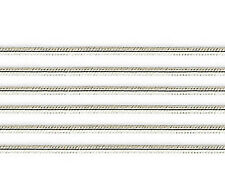14K White Gold Snake Chain .6mm wide 20 inch Lobster Claw Clasp - Solid 14K Gold