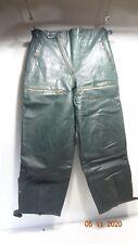127 Vintage 60th Stiefelhose Kradmelder Motorradhose Breeches dunkelgrün Gr. 46