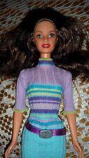 BARBIE DOLL  BRUNETTE DARK BROWN HAIR TERESA READY FOR SHOPPING IN STYLE