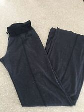 BEBE SDPORT athletic boot cut stretch pants leggings sz M