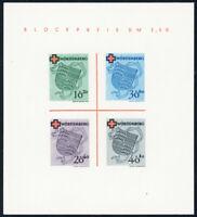 FZ WÜRTTEMBERG, Block 1 I/III, ungebraucht ohne Gummi, gepr. Straub, Mi. 160,-