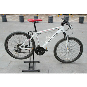 Floor Bike Stand Storage Steel Support Bicycle Holder Parking Rack