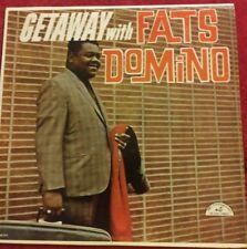 "Fats Domino ""Getaway With"" RARE 1965 MONO LP T-90167- cover EX/vinyl EX"