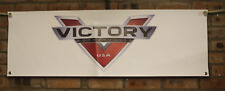victory motorcycle  1  large pvc  garage work shop banner man cave show banner