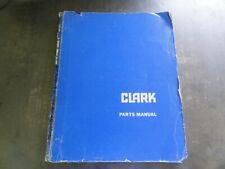 Clark Ec500 Forklift Parts Manual