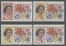 Cook Islands 1967 Elizabeth & Flowers set Sc# 199-220 NH