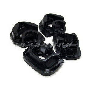 Energy Suspension Motor Mount Inserts Black For Civic Si SiR EP3 Integra RSX DC5