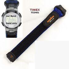 Timex repuesto Pulsera t53401 Ironman 30 lap-cinta de velcro 14/20mm LW textil