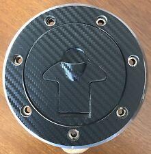 Kawasaki ZX9 R Carbon look Fuel cap cover pad sticker
