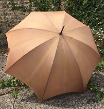 S Fox&Co Ladies Paragon Umbrella With leather Handle