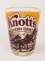 Vintage Knotts Berry Farm Shot Glass