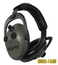 HEAR PRO® Electronic Ear Defenders / Muffs Clay Pigeon Shooting Shotgun Hunting