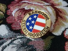 A GREAT LOOKING BADGE FROM BARBOUR INTERNATIONAL STEVE MCQUEEN COLLECTION