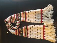 Rare Ralph Lauren Scarf Indian Blanket Style, Cashmere-Wool Blend, Vintage