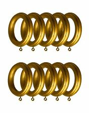 "Anti Gold  Drapery  wood Rings for  10 per Unit,  ID=2 1/2"" , OD=4"""
