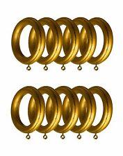 "Anti Gold  Drapery  wood Rings for  10 per Unit,  ID=2 1/2"" , OD=4"""