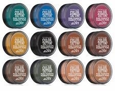 COMPLETE SET of 12 Maybelline Color Tattoo Eyeshadow Pure Pigments