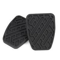 Coppia freno & frizione Pedale Pad in gomma copre per Nissan Qashqai