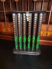 19th Century Antique Taper Candle Mold (12 tube) Tole Country Painted