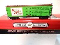 Atlas HO Scale Master Line Tivoli Beer 40' Woodside Billboard Reefer Car-ln w bx
