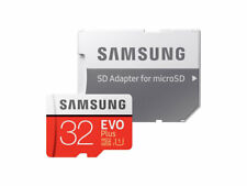 SAMSUNG EVO PLUS 32GB SDHC MICROSD UHS-1 C10 MEMORY CARD 95mb/s With SD Adapter
