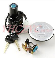 Motorcycle Ignition Switch Lock Gas Cap Set Lock Key for Honda CB500 2013-2014
