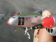 Executive Desktop USAF P-38J Lightning (Marge)  METAL Model Airplane 2103993
