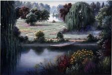 "Dubravko Raos ""Willow Walk"" Fine Art Reproduction"
