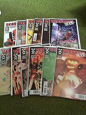 Deadpool Max #1-12 Full Set Run Lot Marvel Comics Deadpool Baker Lapham