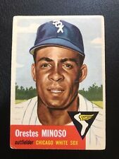 1953 Topps Chicago White Sox Minnie Minoso #66