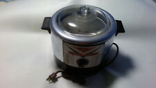 Vintage HY-Fry Automatic Electric Cooker Fryer M-200 Glass LId & Basket