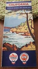 SELTEN! - California - Points of Interest an Touring Map - 1958