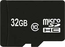32 GB Micro SDHC SD CLASSE 10speicherkarte PER SONY XPERIA Z3 Tablet Compact