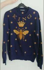 BARGAIN!! D&G men's blue cashmere sweater. Medium size. Genuine. RRP £1400