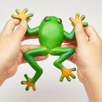 Fake Safety Silicone Frog Simulation Model Vent Tricky Kids Child toy Early edu