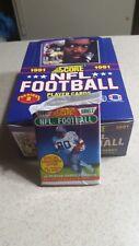 1991 NFL Football Score Player Trading Cards Series 2 Box Brett Favre