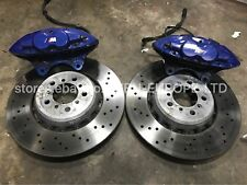 BMW M Performance Anteriore Pinze Freno Brembo & DISCHI 4 POT 1 2 3 4 5 6 7 SERIE