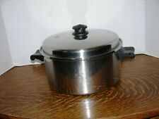 Saladmaster 18-8 Stainless Steel 6-qt. Stock Pot and vapo-Lid